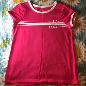 🌟Justice Free add on size 8 t-shirt